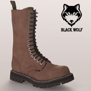Bocanci Steel Boots Crazy Brown 15 inele