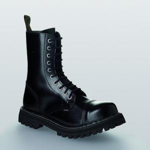 Bocanci Steel Boots Black 10 inele