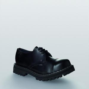 Bocanci Steel Boots Black 3 inele