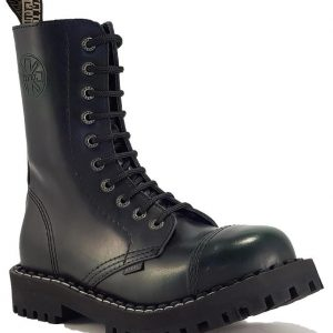 Bocanci Steel Boots Green Black 10 inele
