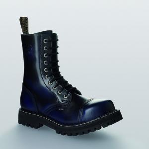 Bocanci Steel Boots Blue Black 10 inele