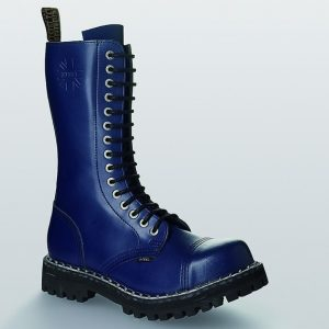 Bocanci Steel Boots Full Blue 15 inele