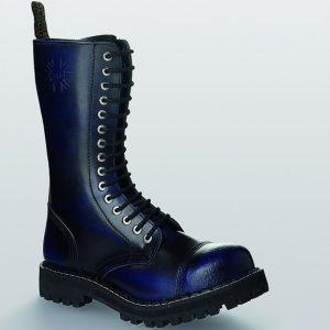 Bocanci Steel Boots Blue Black 15 inele