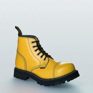 Bocanci Steel Boots Full Yellow 6 inele