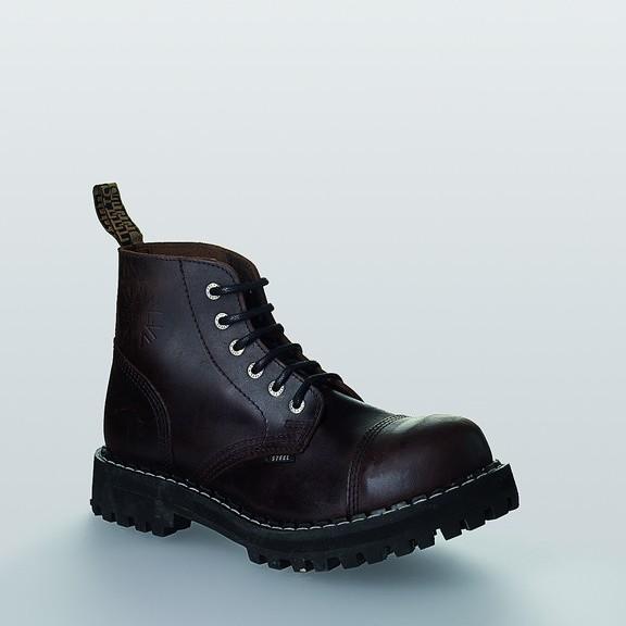 Bocanci Steel Boots Brown 6 inele