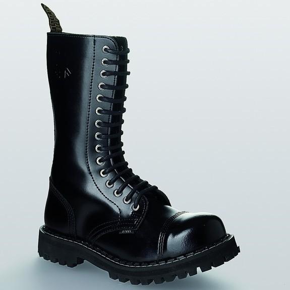 Bocanci Steel Boots Black 15 inele