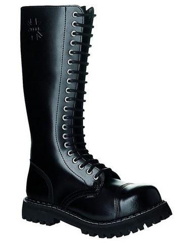 Bocanci Steel Boots Black 20 inele