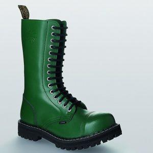 Bocanci Steel Boots Full Green 15 inele