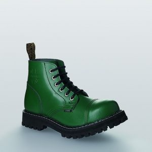 Bocanci Steel Boots Full Green 6 inele