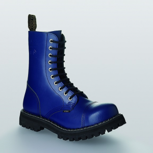 Bocanci Steel Boots Full Blue 10 inele