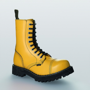 Bocanci Steel Boots Full Yellow 10 inele