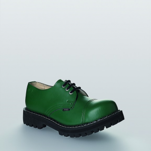 Bocanci Steel Boots Full Green 3 inele