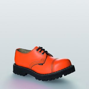 Bocanci Steel Boots Full Orange 3 inele