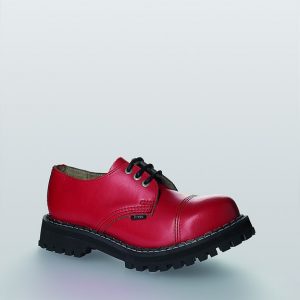 Bocanci Steel Boots Full Red 3 inele