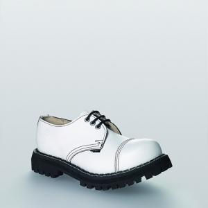 Bocanci Steel Boots Full White 3 inele
