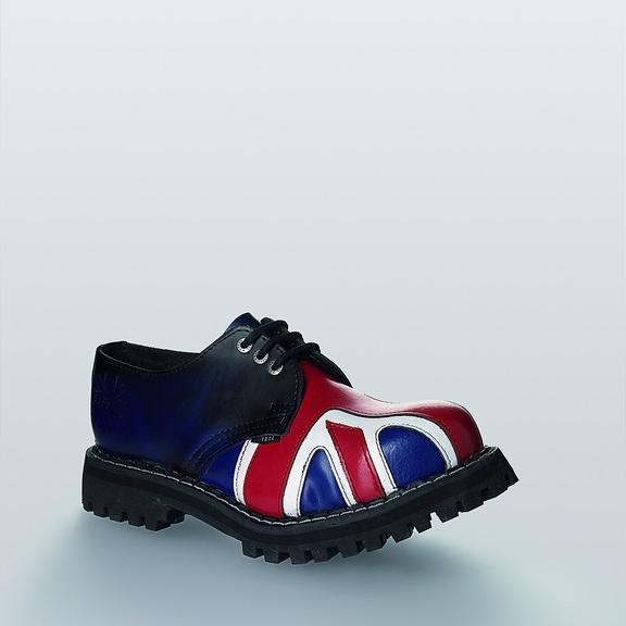 Bocanci Steel Boots Blue UK Flag 3 inele