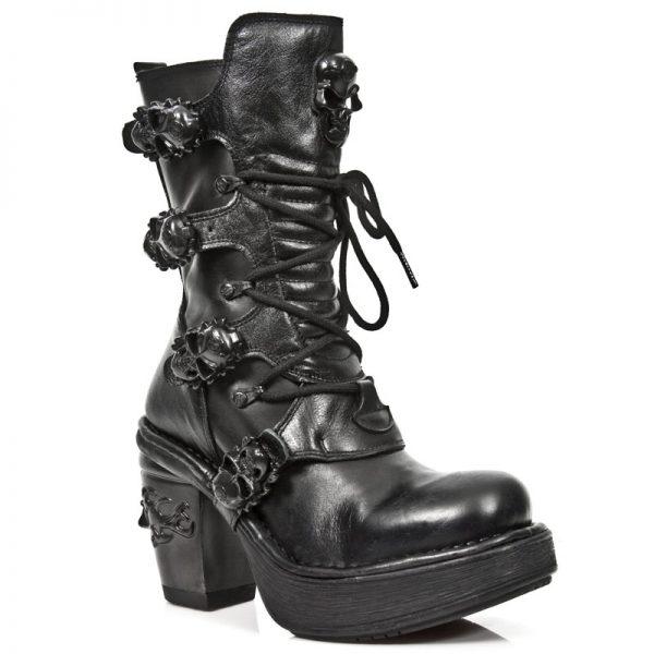 Bocanci NEW ROCK Black Widow